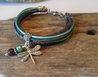 Beaded Boho Bracelet Jasper Beaded Bracelet By
