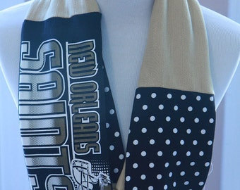 New Orleans Saints Infinity Scarf, Who Dat