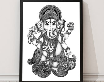 Lord Ganesh Print