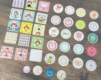 Set of 38 stickers (ST10)