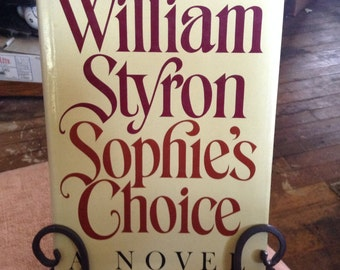 SOPHIE'S CHOICE  by William Styron 1st/2nd program hdbk