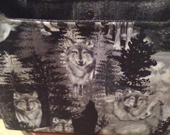 Wolf Handbag
