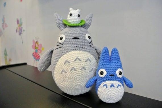 Amigurumi Totoro : Crochet totoro amigurumi handmade crochet amigurumi toy doll