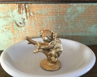 Ring Holder, Koala, Animal, Customizable Animal Ring Holder, - Rainforest, sloth, koala