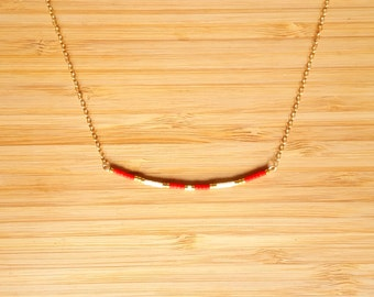 Ola coral necklace