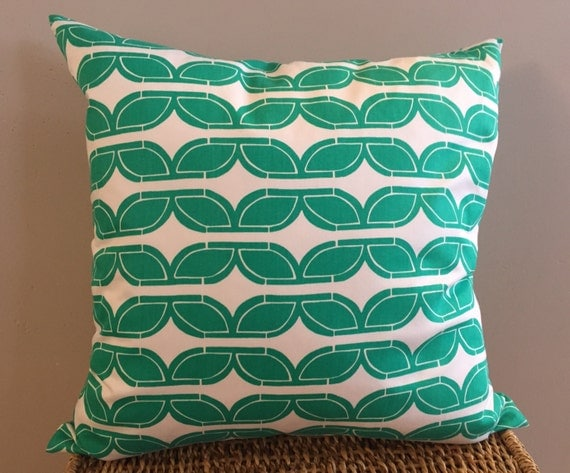 Organic Cotton Throw Pillow Inserts : Green Organic Throw Pillow Insert Removable Cover Pillow