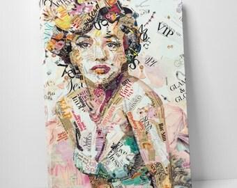 Ines Kouidis 'Glam & Glory' Gallery Wrapped Canvas Print