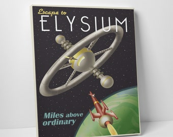 Steve Thomas 'Escape to Elysium' Gallery Wrapped Canvas Print