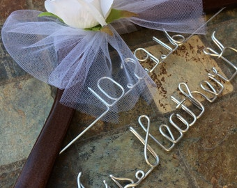 Personalized Wedding Hanger (2 Lines)