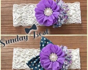 Sunday Best Easter Headband or Hair Clip