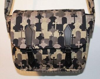 'Tomb stone' satchel bag shoulder