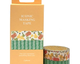 Washi Tape 1.5cmx5mx2pcs Iconic SM332624