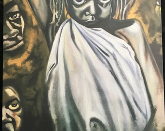 West African Painting/Print.