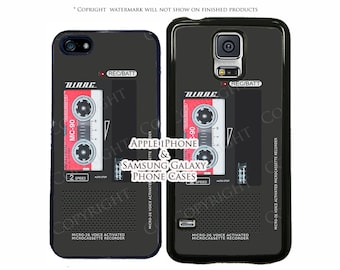 Twin Peaks Dale Cooper Voice Recorder Diane Phone Case For Samsung Galaxy S3, S4, S5, S6, S6 Edge, Note 3, Note 4 Phone Case