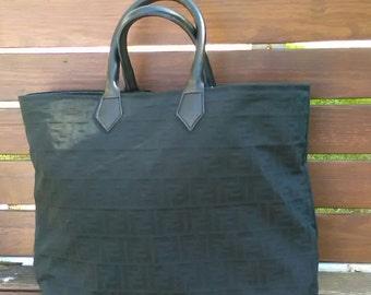 Craft bag with original Fendi fabric