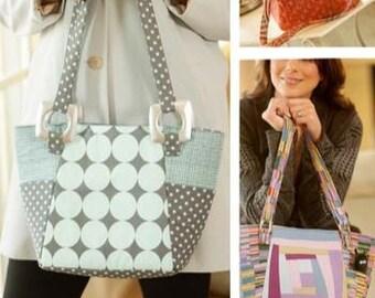 Bag Pattern, Urban Tote Bag Pattern, Bag Patterns Australia
