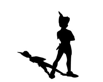 Nursery Decal Baby Kids Boys Room Playroom Bedroom Home Decor Peter Pan Tinkerbell Never Grow Up