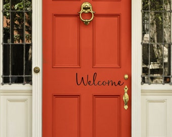 Charming Welcome Decal