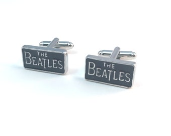 The Beatles Cuff Links - Rectangle