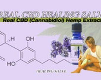 CBD Salve 4 Ounces Transdermal High CBD Salve For Use on Wounds