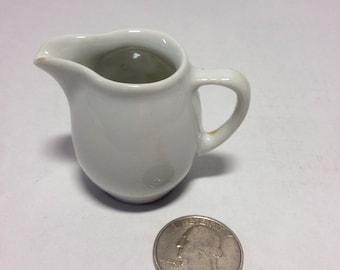 """Tiny Lilien Porzellan of Austria Mini Pitcher or Creamer 1.5"""""""