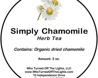 Chamomile Tea - Organic