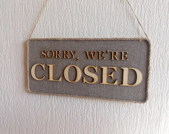 Open Closed Sign, double sided sign, Reclaimed Wood Open Closed Sign, Wooden Open Signm, open sign, Wooden Business Sign, Shop open sign