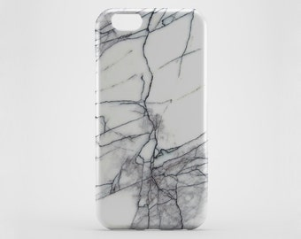 Marble iPhone 6 Case - White Marble Case - iPhone 6S Case - iPhone SE Case - iPhone 6 Plus Case - Galaxy S6 Case - iPhone 5C - Xperia Z Case