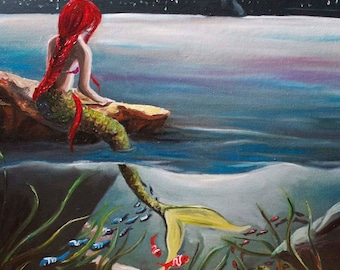 Little Mermaid meets Manhattan