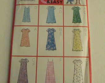 Butterick Fast and Easy 5963 Dress Pattern