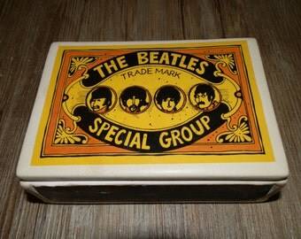 Ceramic Box with Lid - The Beatles