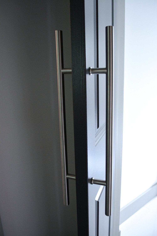 Industrial style door handleback to back door handlesliding for Back door styles