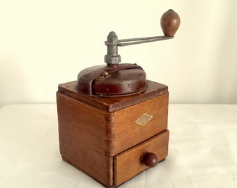 Vintage Japy french coffee grinder