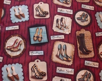 Sassy Shoes with Words from SPX by the yard