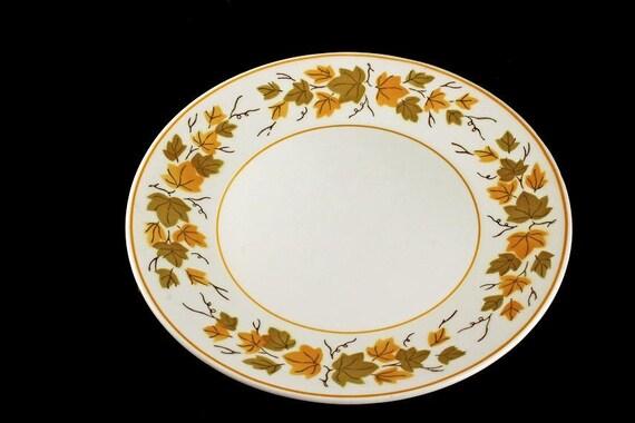 Salad Plate, Mikasa, Aki, Cera-Stone, Made in Japan