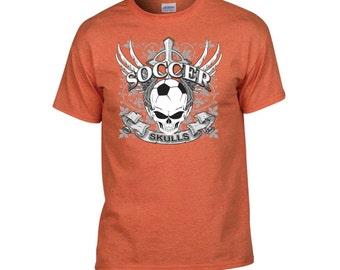 Skulls Soccer Tee