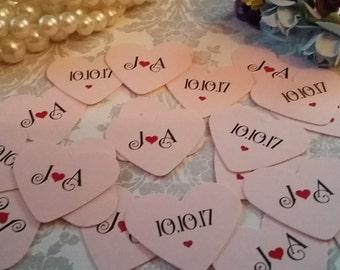 100 Double sided confetti. Custom Confetti. Wedding Confetti. Wedding Decor. Party Supplies.Confetti Toss.Party Confetti