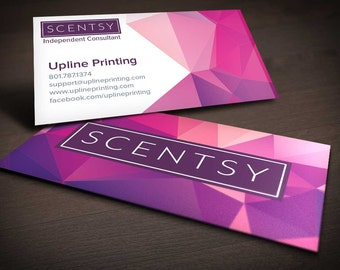 Scentsy Polygon Business Card