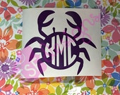 Monogram Crab