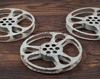 Reel Cool Mid-century Film Reels