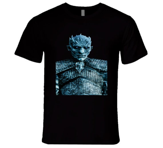 Night King Game Of Thrones T Shirt: Game Of Thrones Night's King White Walkers Tv T Shirt By