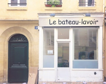 Laundry Room Decor, Paris Photography, Wall Art Print, French Decor, Parisian Decor, Paris Photo, 8 x 10 art, 11 x 14 Print, 16 x 20 Print