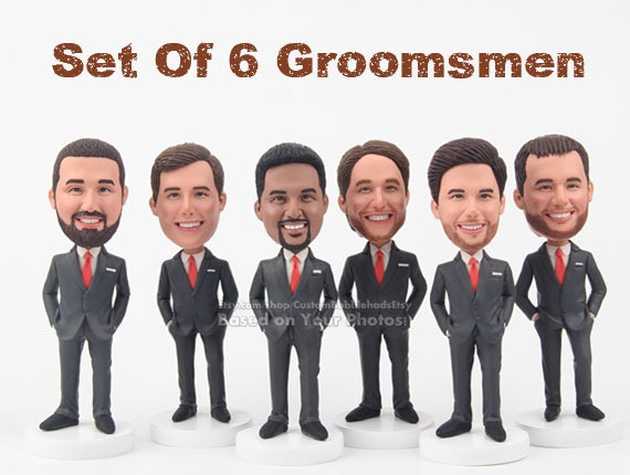 Cool Wedding Gifts For Groomsmen: Set Of 6 Groomsmen Unique Groomsmen Gifts Groomsmen Gift