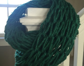 Emerald Forest Infinity Scarf