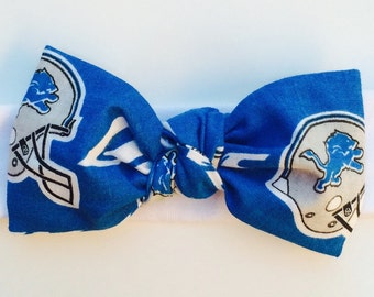 Detriot Lions Headband