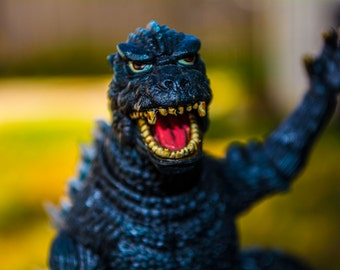 A Different Side To GODZILLA! Toy, Monsters, Retro, Photography