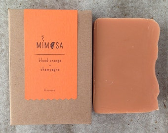 Mimosa Blood Orange and Champagne Soap