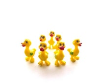 Vintage Cake Toppers/Yellow Duck Cake Toppers#CT01