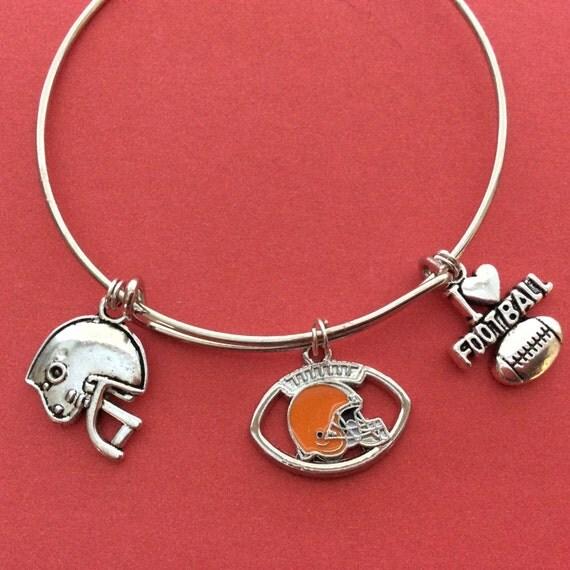 cleveland browns bracelet nfl bracelet i by