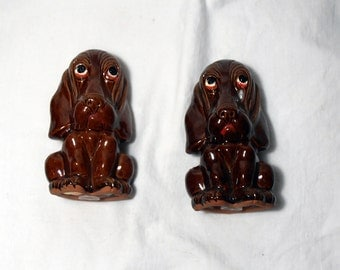 Hound Dog Salt and Pepper Shakers - Epsteam
